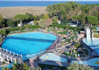 Camping Argeles sur Mer: se baigner au camping Le Soleil